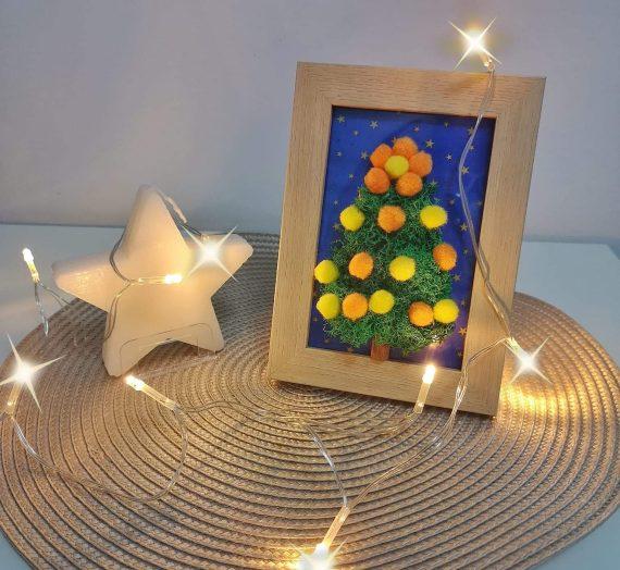 Decor crăciunistic de la Căsuța cu flori Galați
