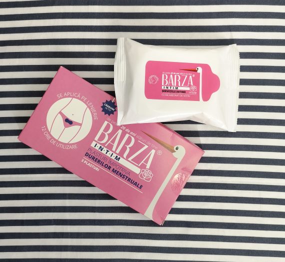 Plasturi împotriva durerilor menstruale și șervețele intime Barza