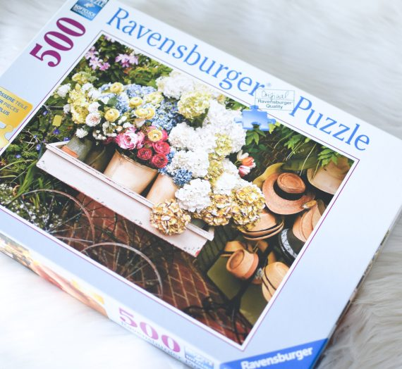 Ravensburger-relaxare prin puzzle