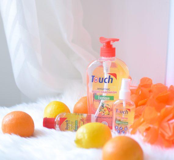 Touch Antibacterial-igienizarea mâinilor și a suprafețelor