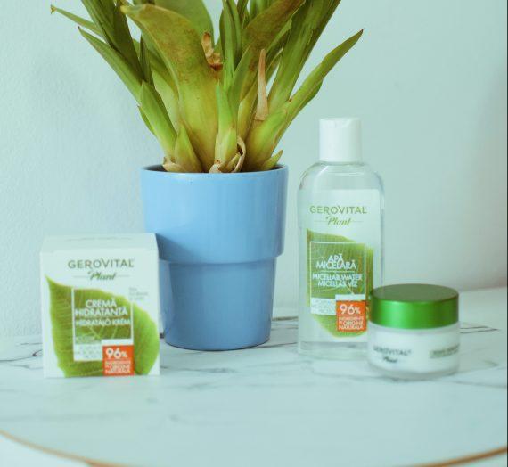Gerovital Plant-echilibrul microbiomului pielii