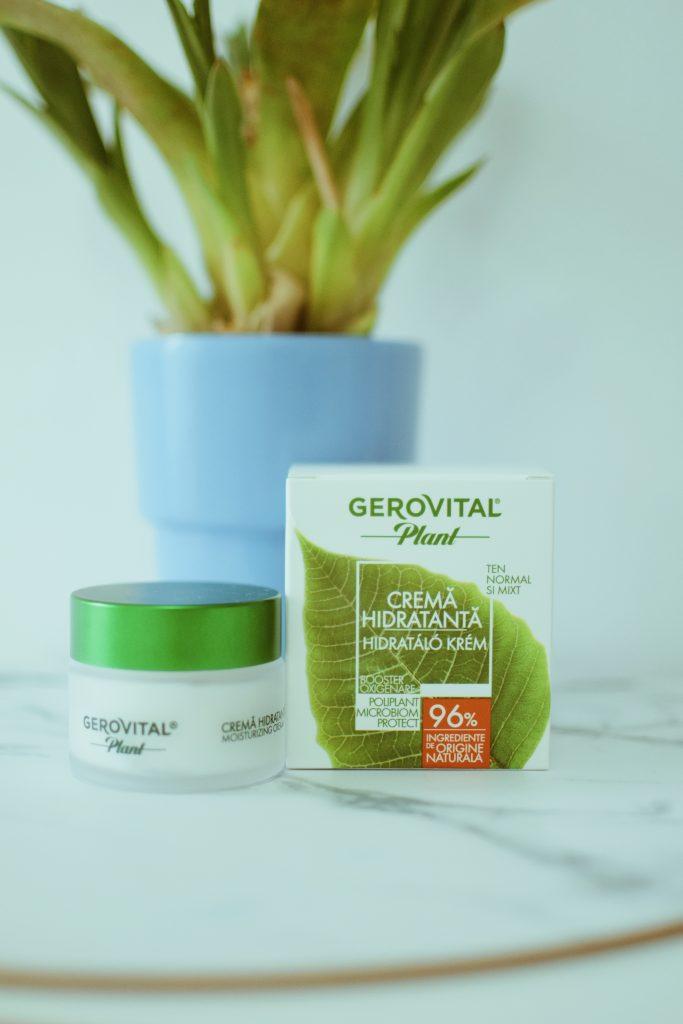 Cremă Hidratantă Microbiom Protect Gerovital Plant